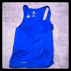 Adidas men's padded climacool tank medium
